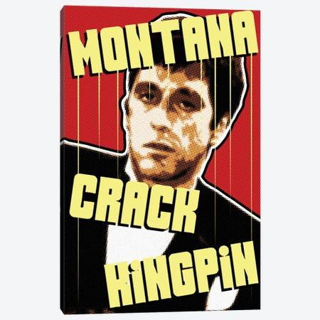Montana Kingpin Canvas Print #MIE192} by Cristian Mielu Canvas Artwork