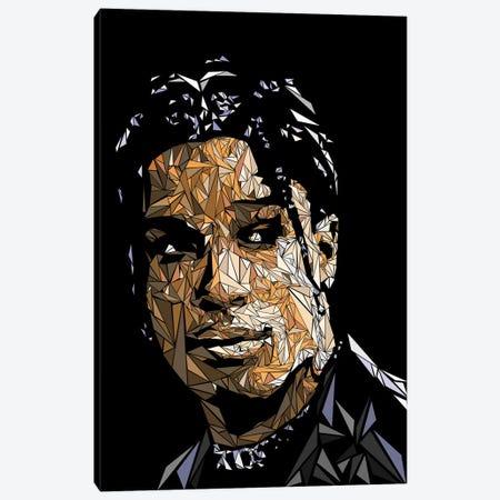 Asap Rocky Canvas Print #MIE195} by Cristian Mielu Canvas Print