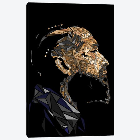 Nipsey Hussle Canvas Print #MIE197} by Cristian Mielu Canvas Print