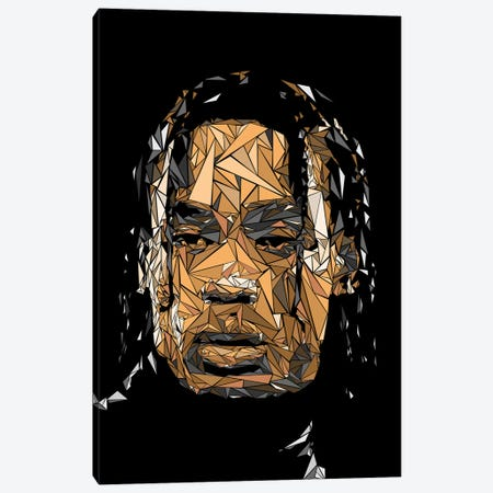 Travis Canvas Print #MIE198} by Cristian Mielu Canvas Artwork