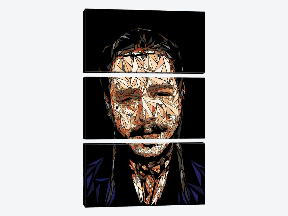 Post Malone by Cristian Mielu 3-piece Canvas Wall Art