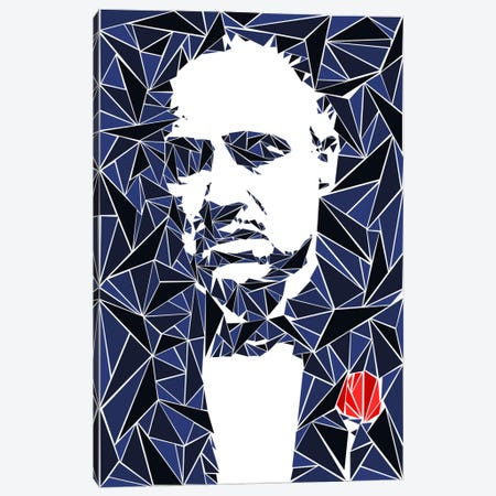 Don Vito Corleone I Canvas Print #MIE19} by Cristian Mielu Canvas Art
