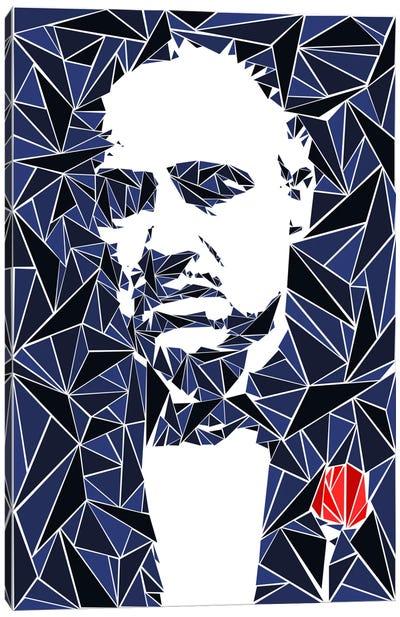 Don Vito Corleone Canvas Print #MIE19