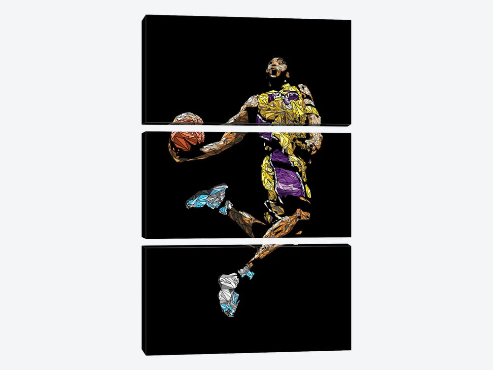 Kobe by Cristian Mielu 3-piece Art Print