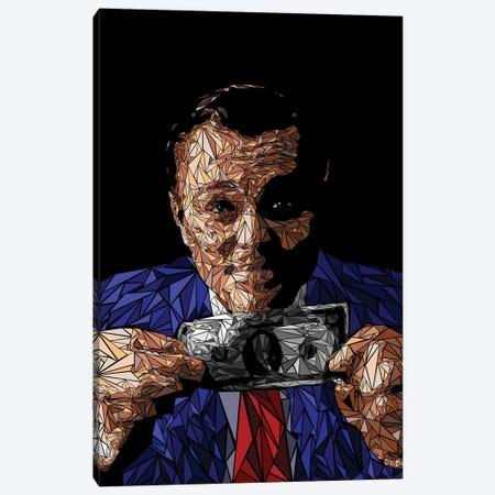 Wall Street Fake Guru Canvas Print #MIE204} by Cristian Mielu Art Print