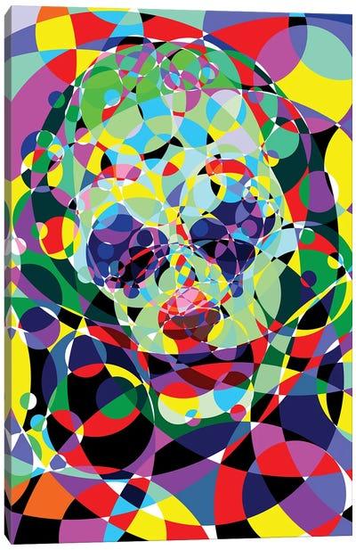 Joker - Negative Thoughts Canvas Art Print