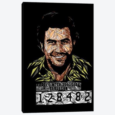 Pablo - Medellin's Kingpin Canvas Print #MIE206} by Cristian Mielu Art Print