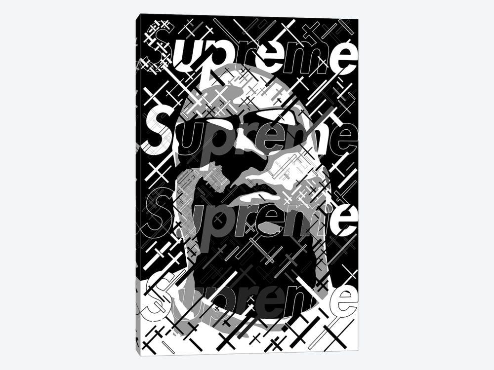Big Supreme Black&White by Cristian Mielu 1-piece Art Print