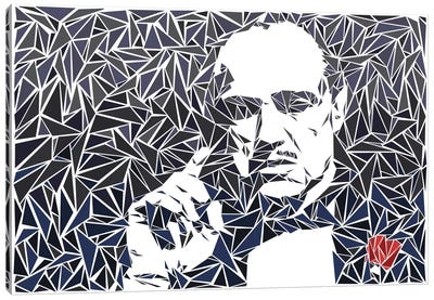 Don Vito Corleone II Canvas Art Print