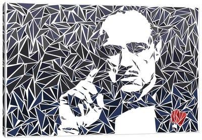 Don Vito Corleone II Canvas Art Print
