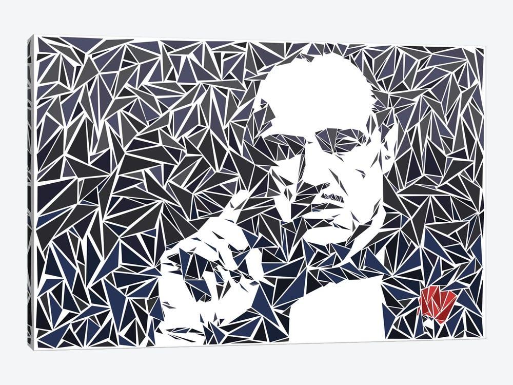 Don Vito Corleone II by Cristian Mielu 1-piece Canvas Wall Art