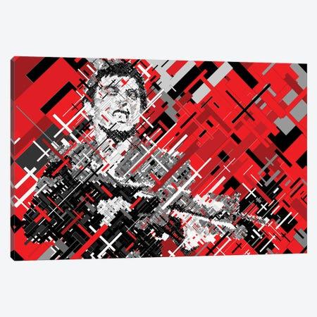 Scarface Shooting Canvas Print #MIE210} by Cristian Mielu Canvas Print