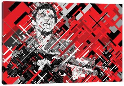 Scarface Shooting Canvas Art Print