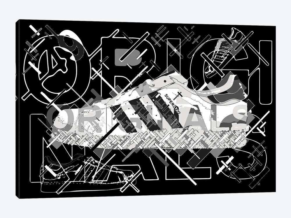 Superstar by Cristian Mielu 1-piece Canvas Print