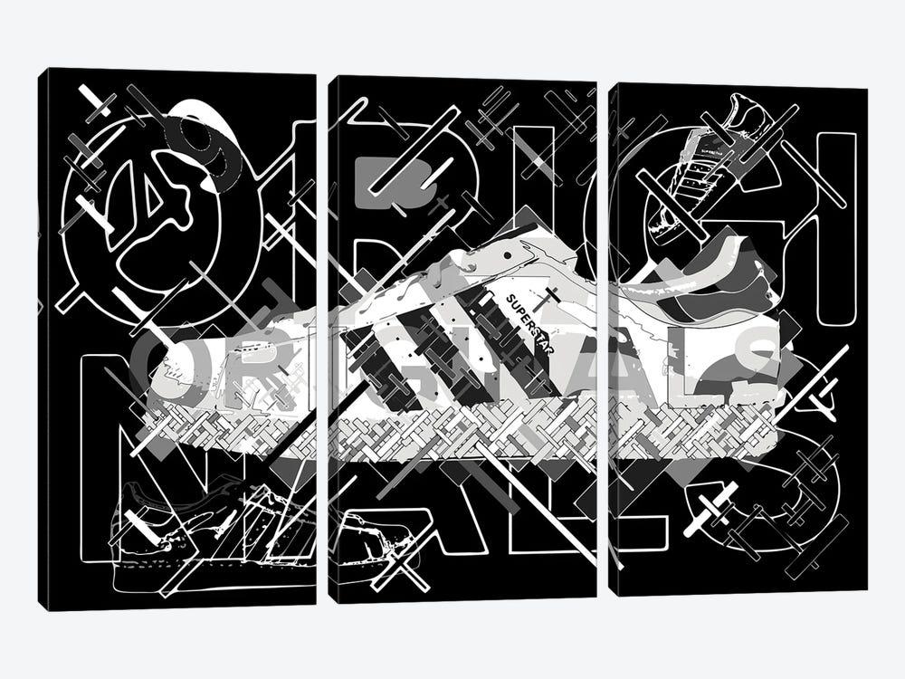 Superstar by Cristian Mielu 3-piece Art Print