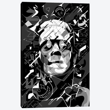 Frankenstein Deadman Walking Canvas Print #MIE218} by Cristian Mielu Canvas Print