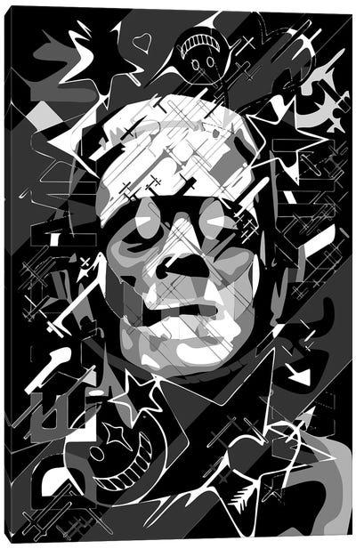 Frankenstein Deadman Walking Canvas Art Print