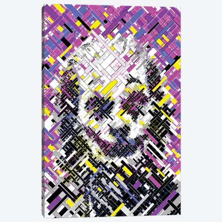 Joker - Nothing To Laugh About Canvas Print #MIE221} by Cristian Mielu Canvas Artwork