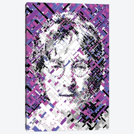 Lennon - All The People Canvas Print #MIE223} by Cristian Mielu Canvas Wall Art