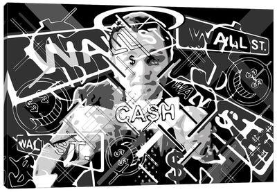 Show Me the Cash Canvas Art Print