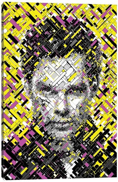 Dexter - Blured Lines Canvas Art Print