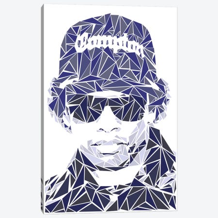 Eazy-E Canvas Print #MIE22} by Cristian Mielu Canvas Art Print