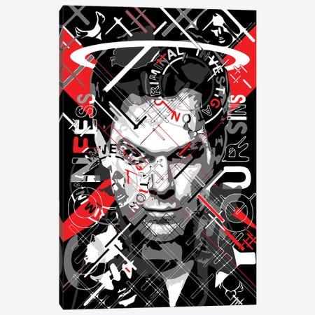 Dexter - Confess Your Sins Canvas Print #MIE230} by Cristian Mielu Canvas Art Print