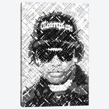 Eazy Legend Canvas Print #MIE233} by Cristian Mielu Canvas Art Print