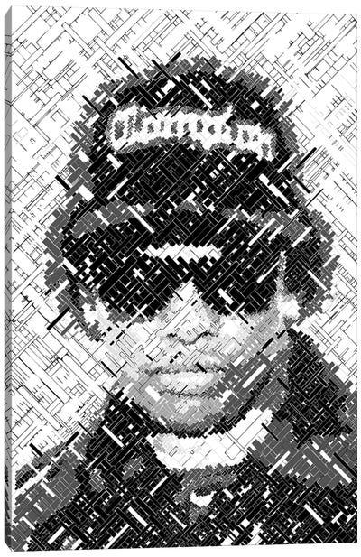 Eazy Legend Canvas Art Print