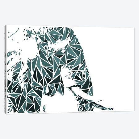 Elephant Canvas Print #MIE23} by Cristian Mielu Canvas Print