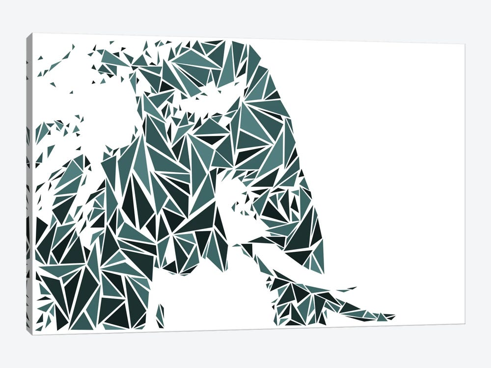 Elephant by Cristian Mielu 1-piece Canvas Print