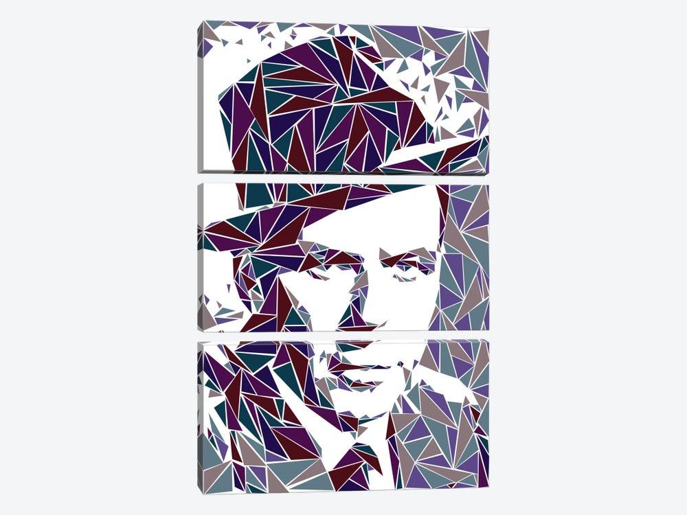 Frank Sinatra by Cristian Mielu 3-piece Art Print