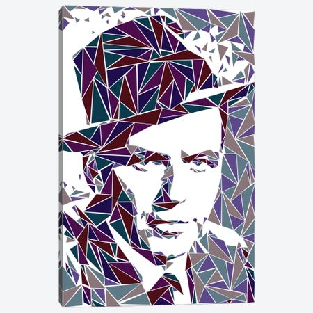 Frank Sinatra Canvas Print #MIE25} by Cristian Mielu Canvas Artwork