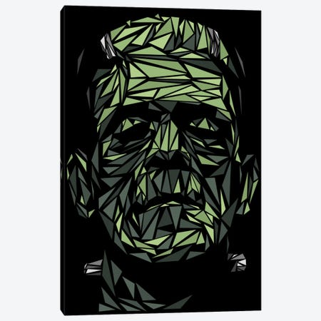 Frankenstein Canvas Print #MIE26} by Cristian Mielu Canvas Art