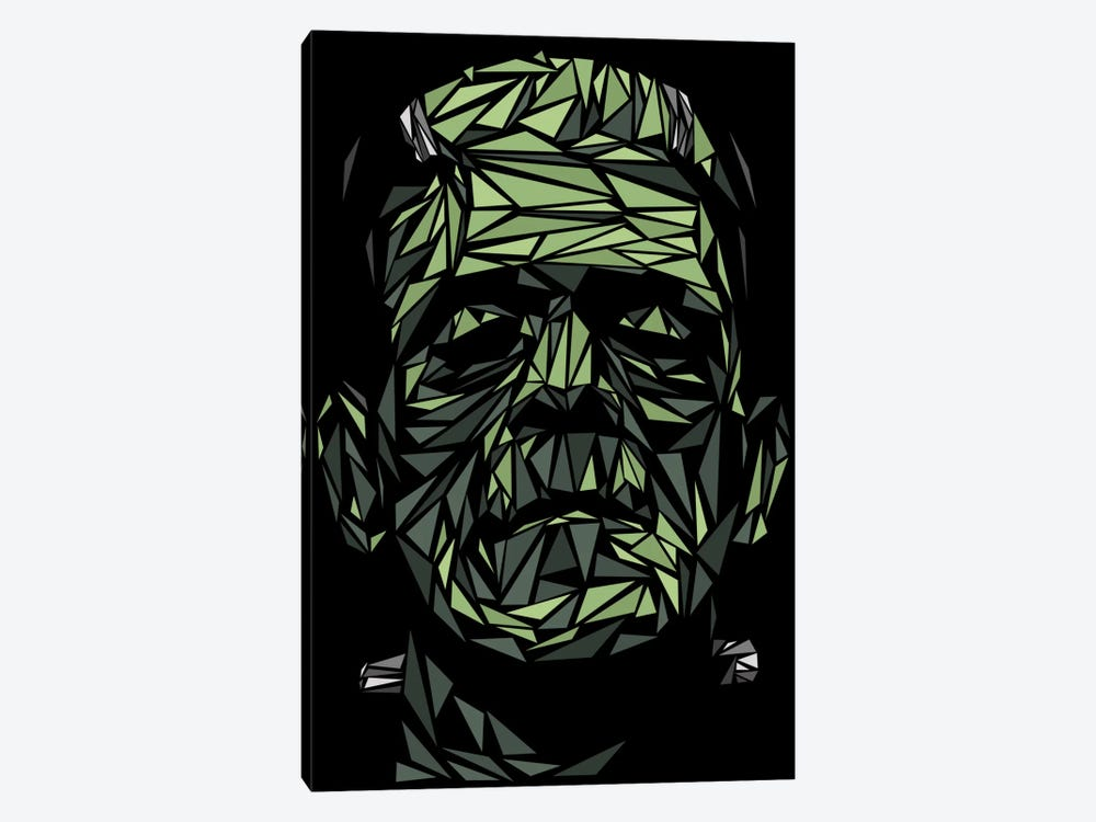 Frankenstein by Cristian Mielu 1-piece Canvas Art
