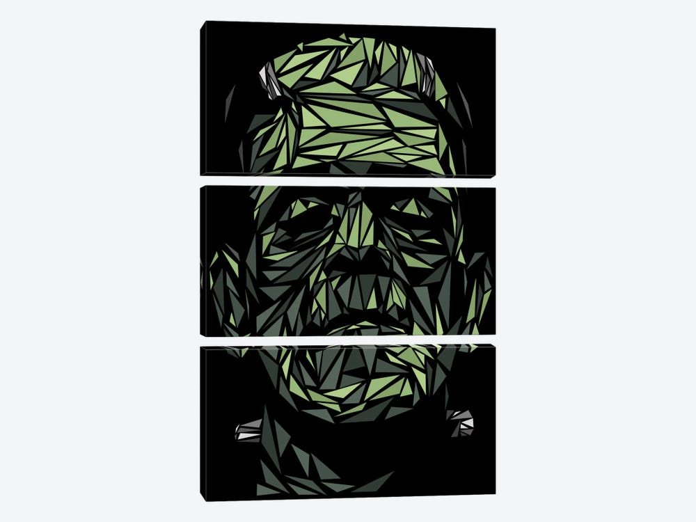 Frankenstein 3-piece Canvas Artwork