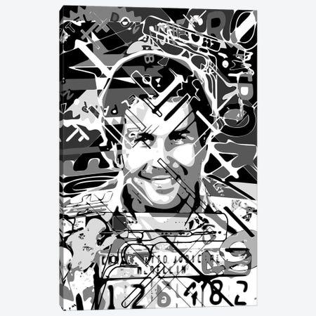 Don Pablo Canvas Print #MIE270} by Cristian Mielu Art Print