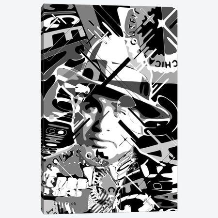 Al Capone Scarface Canvas Print #MIE271} by Cristian Mielu Art Print