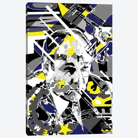 Tony Soprano - New Jersey Canvas Print #MIE275} by Cristian Mielu Canvas Artwork