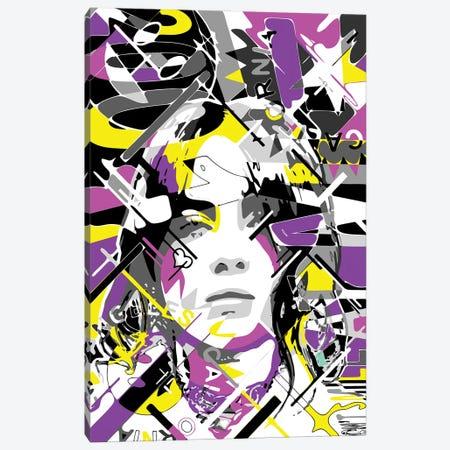 Billie Canvas Print #MIE276} by Cristian Mielu Canvas Artwork