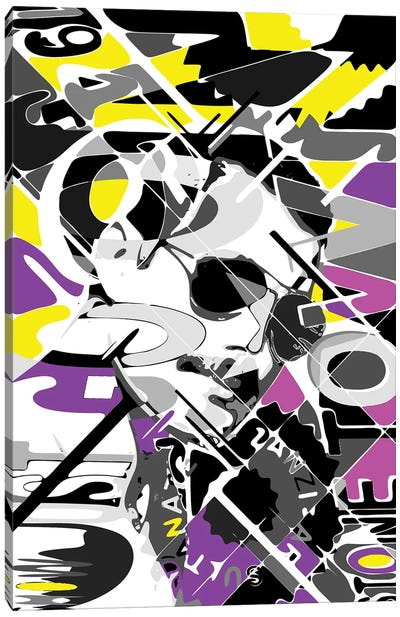 Freddie - Show Must Go On Canvas Art Print