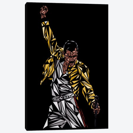 Freddie Mercury Canvas Print #MIE27} by Cristian Mielu Canvas Art