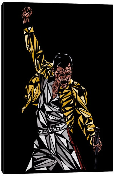 Freddie Mercury Canvas Art Print