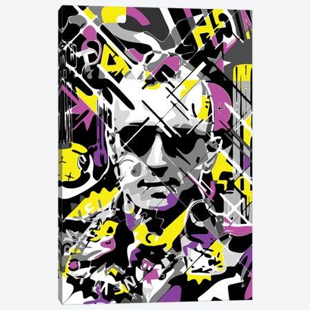 Taxi Driver - Yellow Cab Canvas Print #MIE283} by Cristian Mielu Canvas Artwork