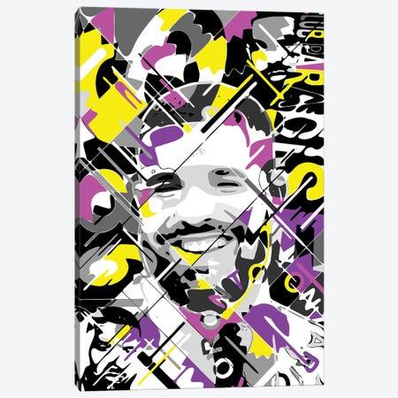 Drake Canvas Print #MIE284} by Cristian Mielu Art Print