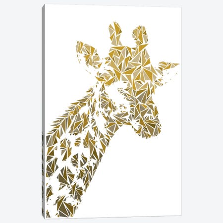 Giraffe Canvas Print #MIE29} by Cristian Mielu Canvas Art Print