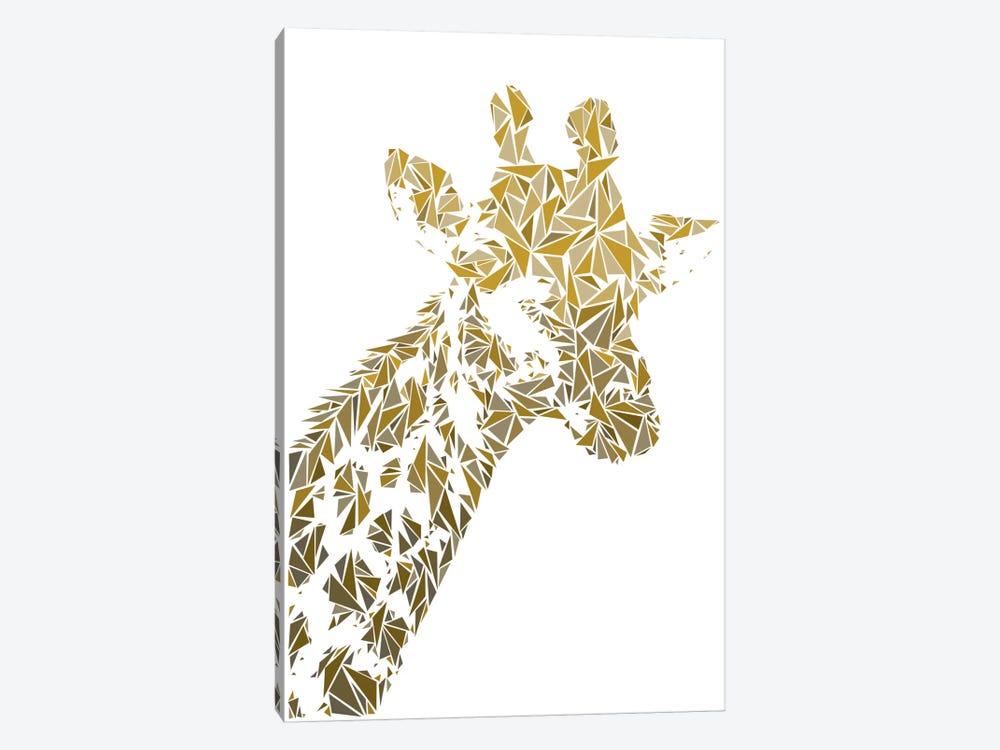 Giraffe by Cristian Mielu 1-piece Canvas Art Print