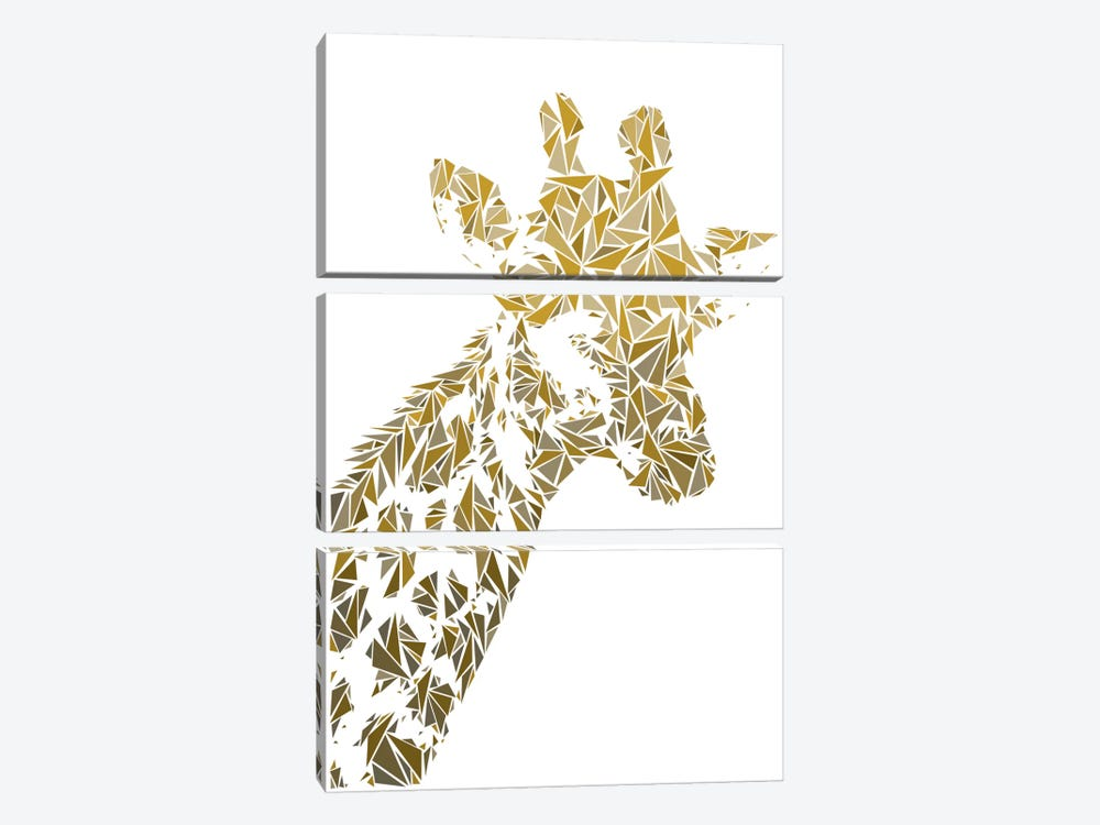 Giraffe by Cristian Mielu 3-piece Art Print