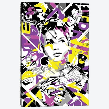 Brigitte Canvas Print #MIE304} by Cristian Mielu Canvas Artwork