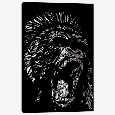 Gorilla 3-Piece Canvas #MIE30} by Cristian Mielu Canvas Art